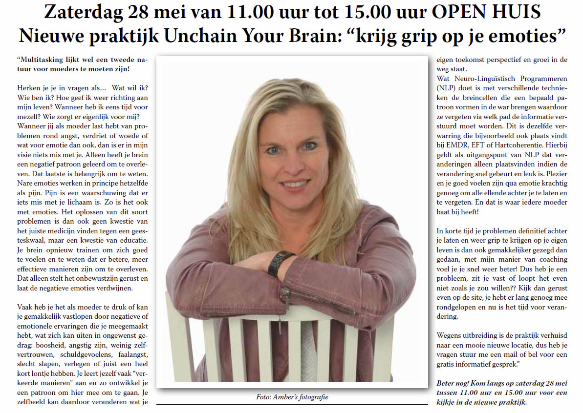 open-huis-unchain-your-brain